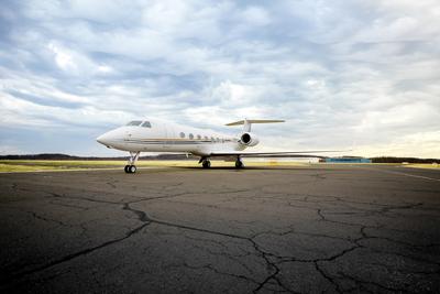 Gulfstream G550 Jet