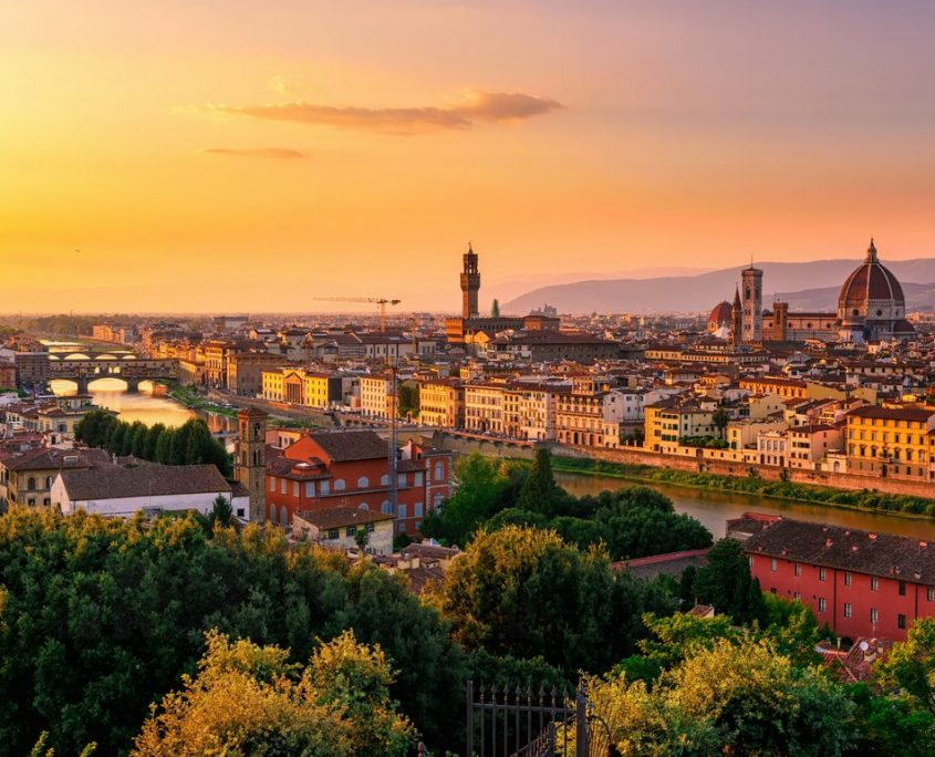 Tuscany, Italy Private Jet Charter